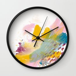 Taking Care of Oneself Wall Clock