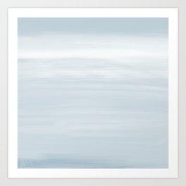 Daybreak Blue - Abstract Art Series Art Print