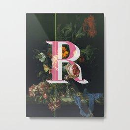 Letter R Metal Print