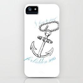 Forbidden Seas iPhone Case