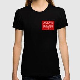 SAME LOVE - logo T-shirt