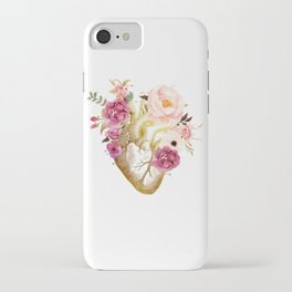 Human Heart Anatomy iPhone Case