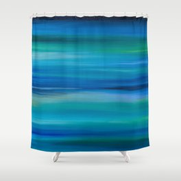 Marine Equanimity Shower Curtain