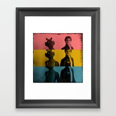 Going Somewhere Framed Art Print