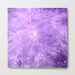 Lavender Orion Nebula Metal Print
