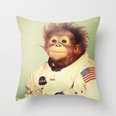 Space Cadet Throw Pillow