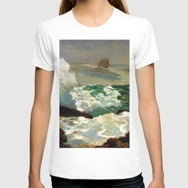 Winslow Homer1 - On A Lee Shore - Digital Remastered Edition T-shirt