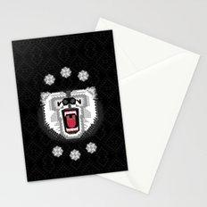 Polar Bear Geometric Stationery Cards