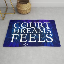 A Court of Dreams and Feels Rug