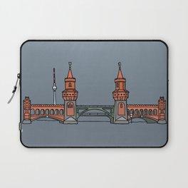 Oberbaum Bridge in Berlin Laptop Sleeve