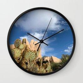 Desert Oasis Wall Clock