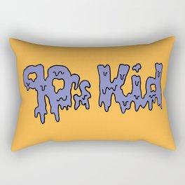 90s Kids -- Orange Rectangular Pillow