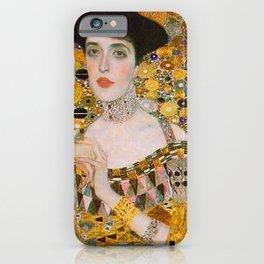 Adelle (Detail) Gustav Klimt iPhone Case
