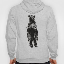 Black Bear and Pickerel Hoody