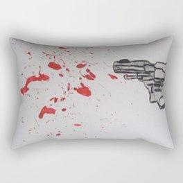 Blood Metal Rectangular Pillow