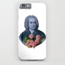 Bach Flowers iPhone Case