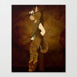 American Shorthair Canvas Print