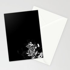 Datadoodle Flowers B/W Stationery Cards