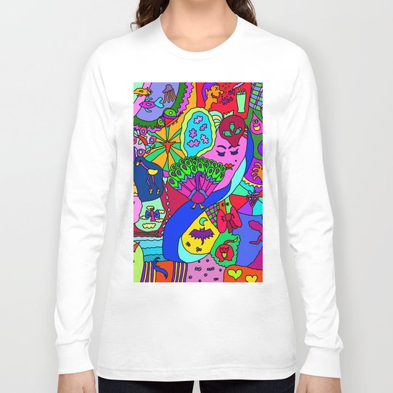 Abstract 27 Long Sleeve T-shirt