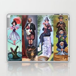Disneyland Haunted Mansion Stretching Room Portraits Laptop & iPad Skin