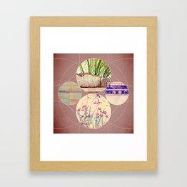Inner Circle Four Framed Art Print