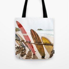 Surfing Day 2 Tote Bag