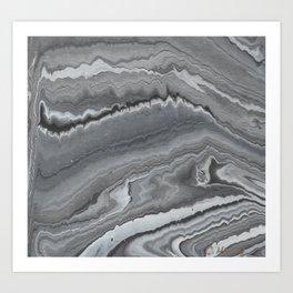 Silver Haze Art Print