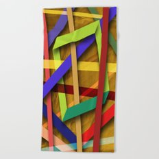 Abstract #356 Beach Towel