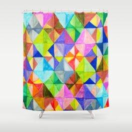 Diamond Tiles Shower Curtain