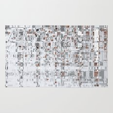 Abstract Architecture Grey Rug