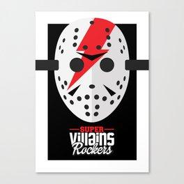 Supervillains Rockers - Jason Canvas Print