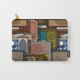 Radio pattern Carry-All Pouch