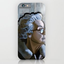 The Old Woman & the Cold Factory iPhone Case