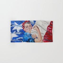 Rosie the Riveter Hand & Bath Towel