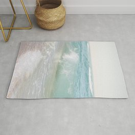 Beach Waves | Photography Summer Vibes | Sun Fun | Water Ocean | Salt | Sea Rug