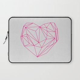 Heart Graphic Neon Version Laptop Sleeve