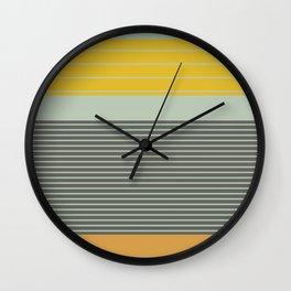Stripe Pattern III Wall Clock