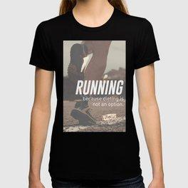 No Diet Just Running Runners Design T-shirt