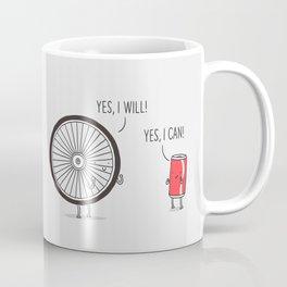 I will, I can Coffee Mug