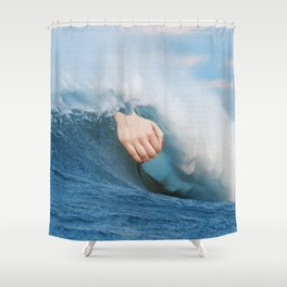 La Gran Ola Shower Curtain