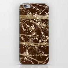 Make it Through (woodland brown edition) iPhone Skin