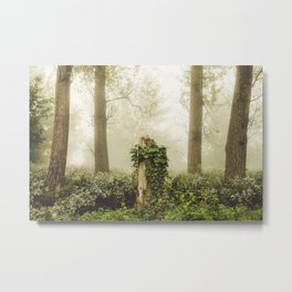 Magic stump Metal Print