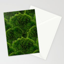 Moss - Green Luscious Mossy Texture - Full on Natural Moss Mounds- Earthy Greens -Turning Moss Green Stationery Cards