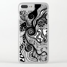 hypnotised Clear iPhone Case