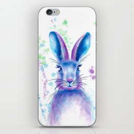 Messy Bunny iPhone Skin