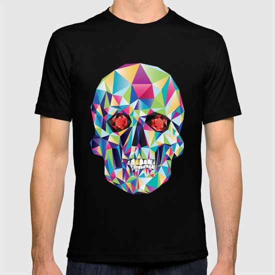 Geometric Candy Skull T-shirt