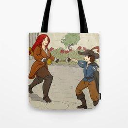 Fancy Duel Tote Bag