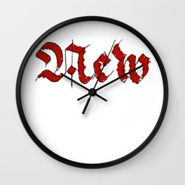 New Wall Clock