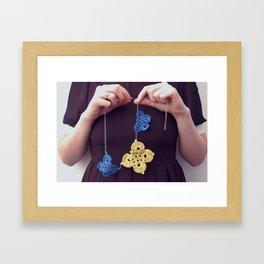 A butterfly life Framed Art Print