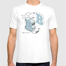 The Exploded Alphabet / B T-shirt